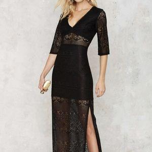 Nasty Gal Dita Lace Dress